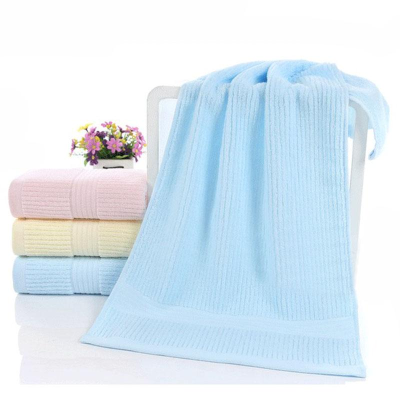 luxury high quality cotton bath towel 34x75 cm solid plain dyed rh dhgate com