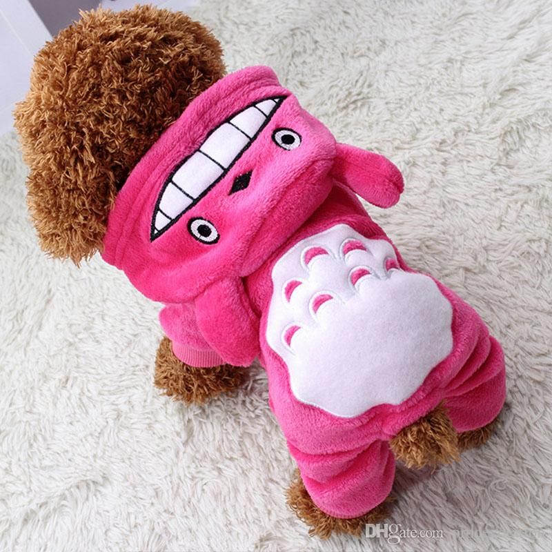 2019 New Fashion Warm Dog Clothes For Small Dogs Soft Winter Pet
