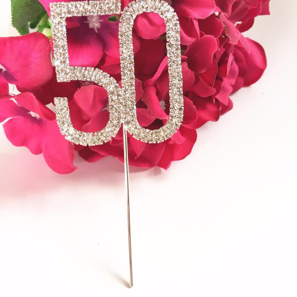 Best Happy 50th Birthday Wedding Anniversary Party Decoration 5 Cm ...