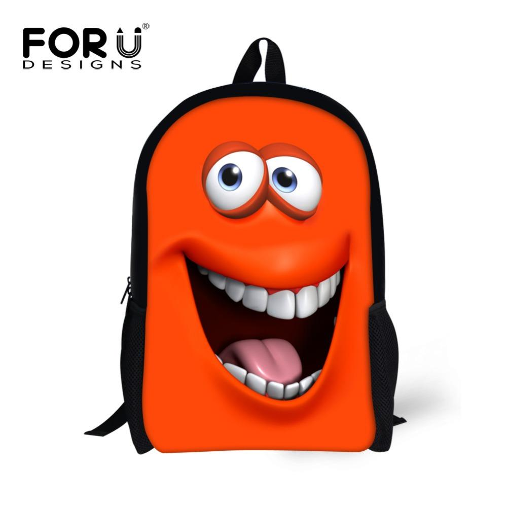 3D Emoji Backpack Funny Smiley Face Cartoon Back Pack For Teenager Girls    Boys Primary School Book Bags Bagpack New Bag Girls School Bags Side Bags  From ... 88e20694466b2