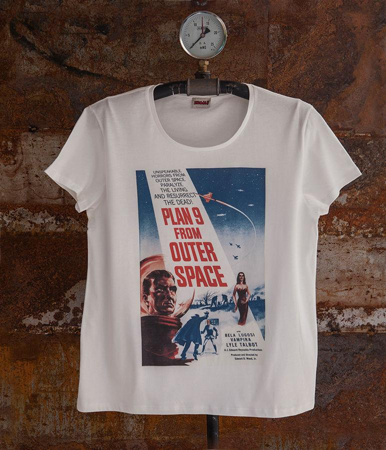 Plan 9 From Outer Space Quotes Mens Summer Style Men T Shirt Top Tee