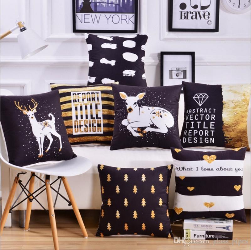 cushions covers geometric decorative pillow case printed throw rh dhgate com