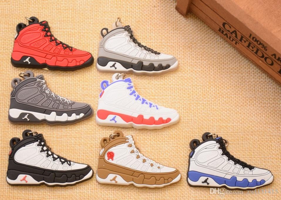 Shoes Keychain Bag Charm Woman Men Kids Key Ring Key Holder Gift Sneaker Key Chain Sport Shoes Keychain car Keychains