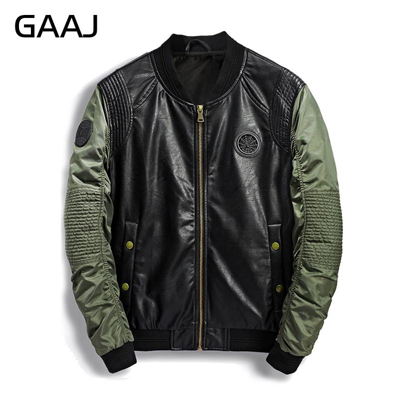 a91a3917481 2018 Spring Summer Military Bomber Jacket Men Camo Streetwear Leather Denim  Camouflage Army Biker Jackets Pilot For Men S Coat Discount Leather Jackets  Mens ...