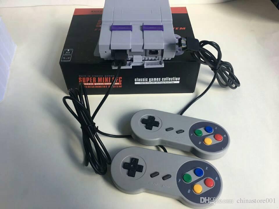Super Classic SFC TV Handheld Mini Game Console 16bit 16 bit Entertainment System For 16bit 94 SFC NES SNES Games Consoles