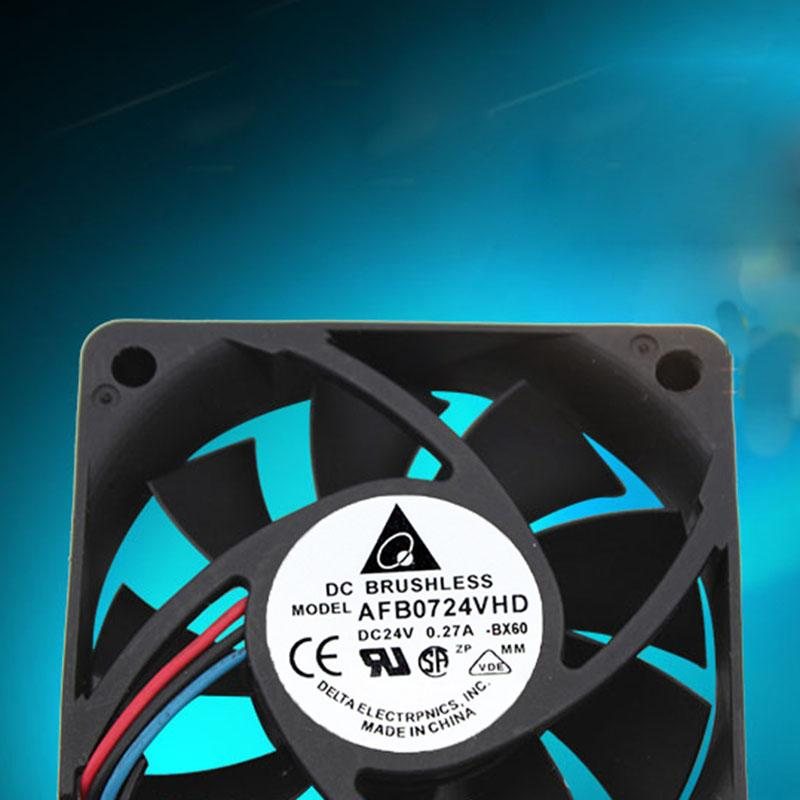 AFB0724VHD 24V 0 27A for Delta 70 * 70 * 20 double ball inverter cooling fan