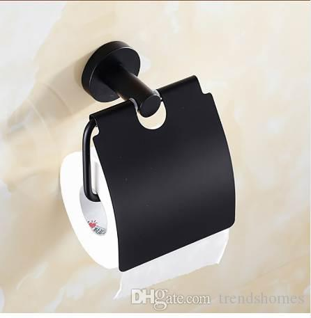 2019 stainless steel toilet paper holder vintage wall mounted black rh dhgate com