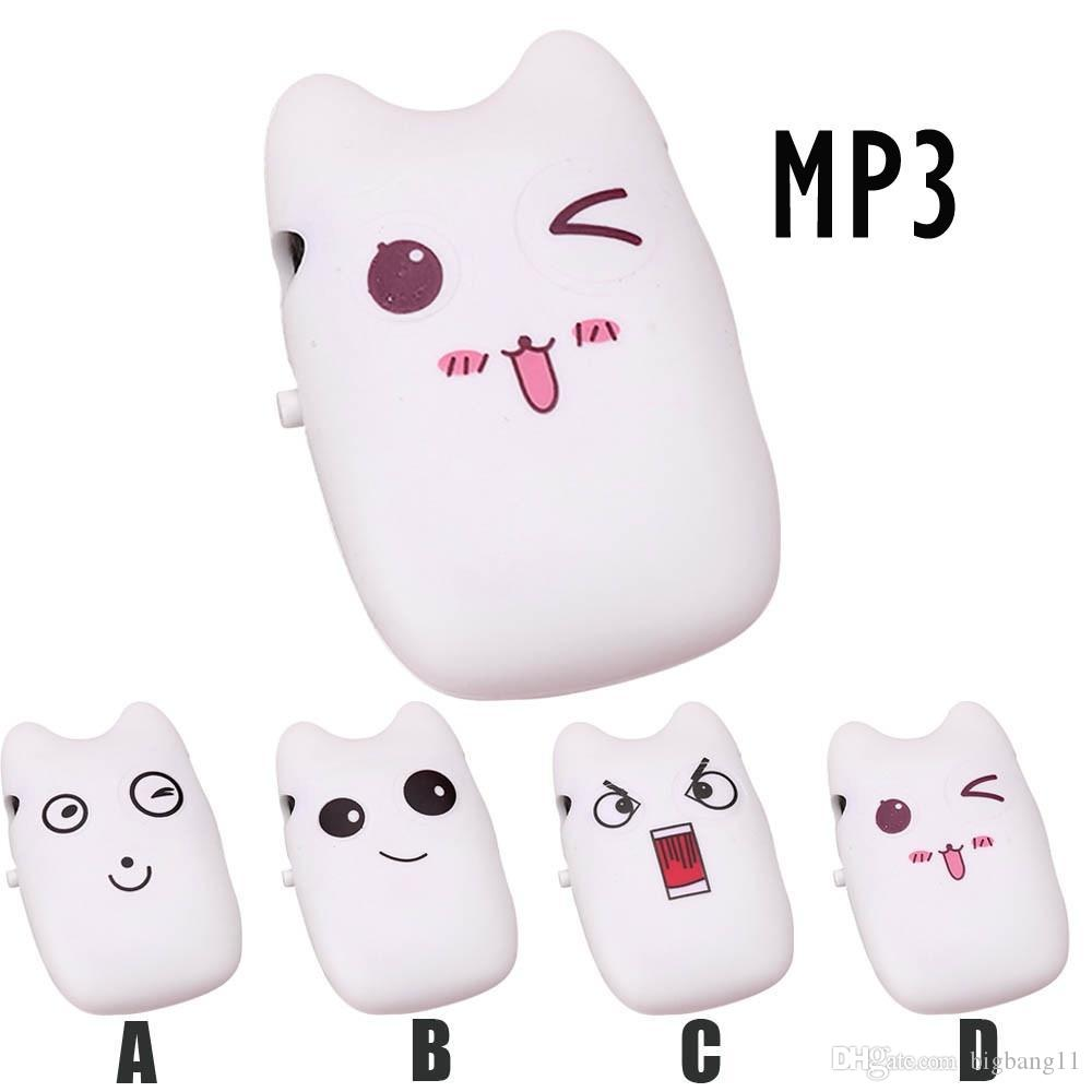 Promotion Lower price Cartoon Portable Mini USB Clip Digital Mp3 Music Player Support 8GB SD TF Card Cute