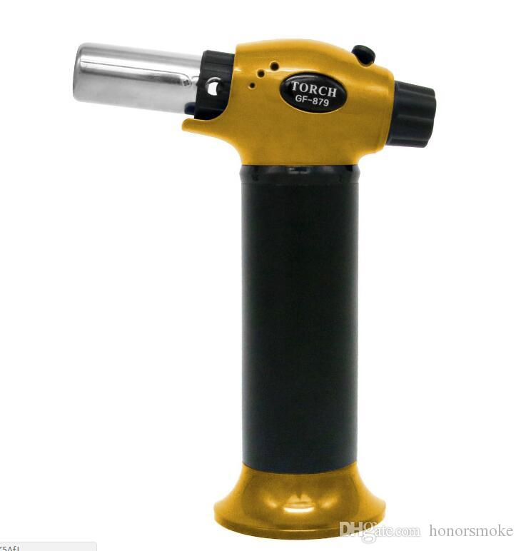 Newest XXXL 1300C Professional Butane Scorch torch jet Gas flame lighter Giant Chef Blowtorch Refillable Micro Culinary BBQ For Kitchen Tool