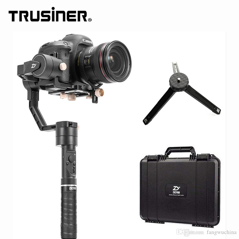 Zhiyun Crane Plus 3-Axis Handheld DSLR Camera Gimbal Stabilizer 5.5lb Payload Timelapse Object Tracking for Fujifilm Canon Nikon
