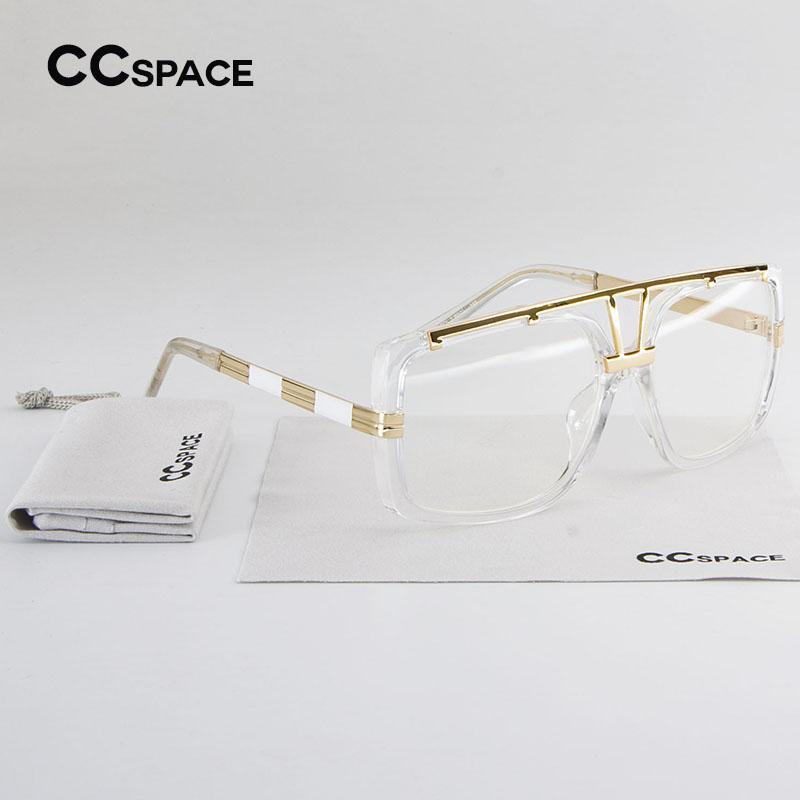 Hommes Classique Femmes Transparent Cadre De Designer La Su167 Cadres Marque Cc Mode Space Lunettes Métal Lentille Claire En Vue dstQrh