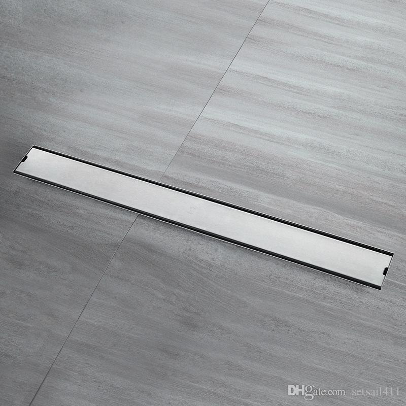 304 stainless steel bathroom kitchen floor drain 100cm grates waste rh dhgate com