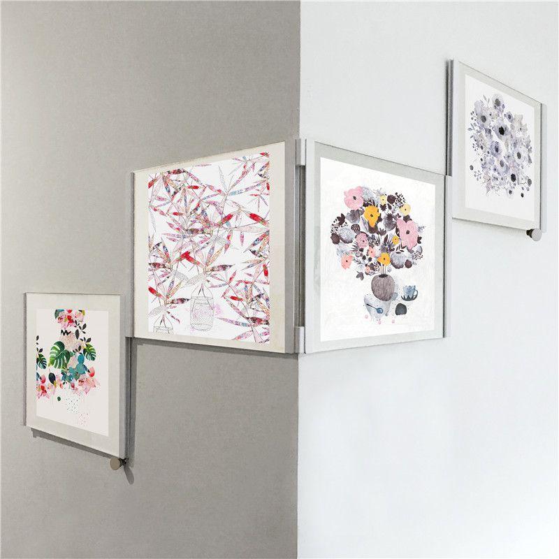 Großhandel Diy 3d Weiß Schwarz Bild Fotorahmen Kreative Puzzle Wand ...
