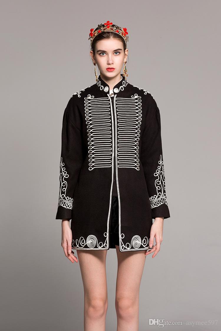 39fe7f07cd956 Cheap Double Breasted Knit Jacket Best European Women Overcoat