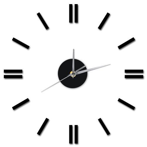 12'' acrylic diy digital kitchen wall clocks modern decorative large