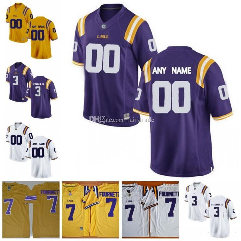 release date: 92c13 9fba2 Custom LSU Tigers #1 Eric Reid 11 Spencer Ware 33 Jamal Adams 80 Jarvis  Landry Personalized Any Name Any Number College Football Jersey