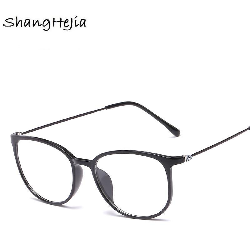 fb1c20aed0 Slim Frame Eyeglasses Fashion Brand Men Frame Optical Glasses ...