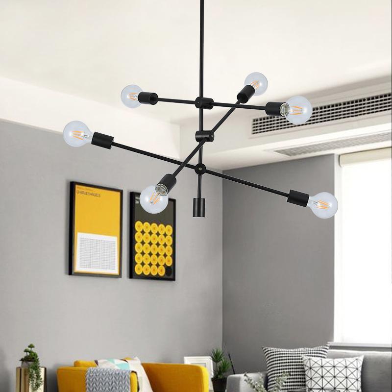 modern pendant light black metal ceiling hanglamp chandelier rh dhgate com