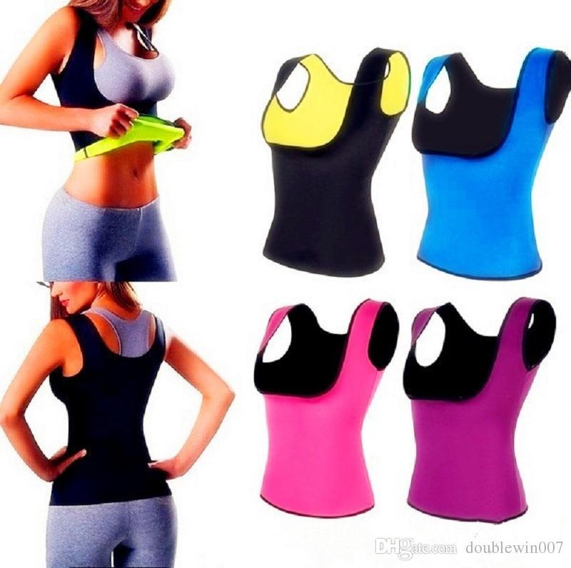 1c6236eac5ca5 Cami Hot Women s Hot Shapers Shirt S-2XL Body Shaper Weight Loss ...