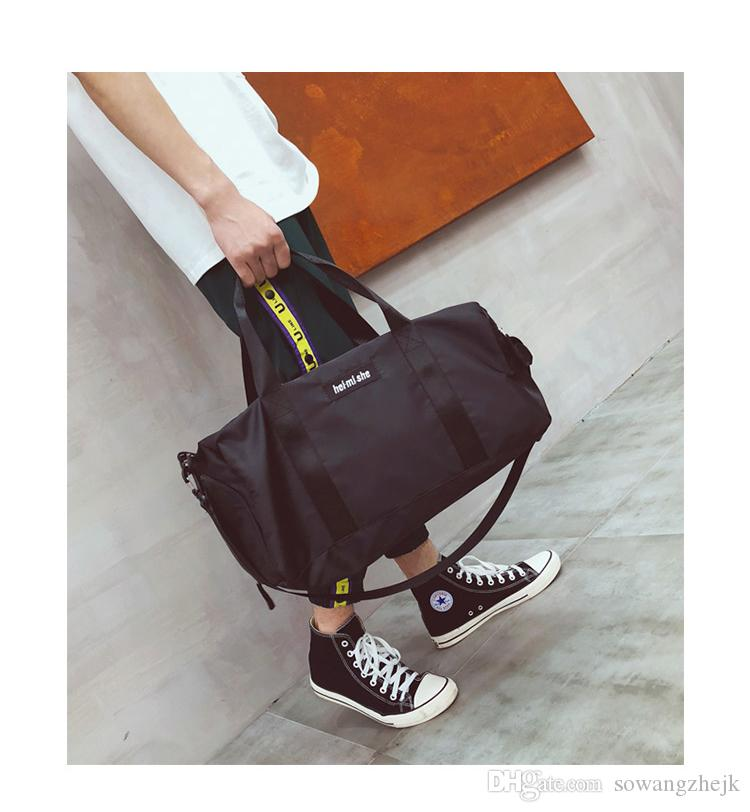الرجال النساء للجنسين حقيبة سفر واق الشحن المجاني حقائب الأمتعة حقيبة الصالة الرياضية حقيبة رياضية سعة كبيرة