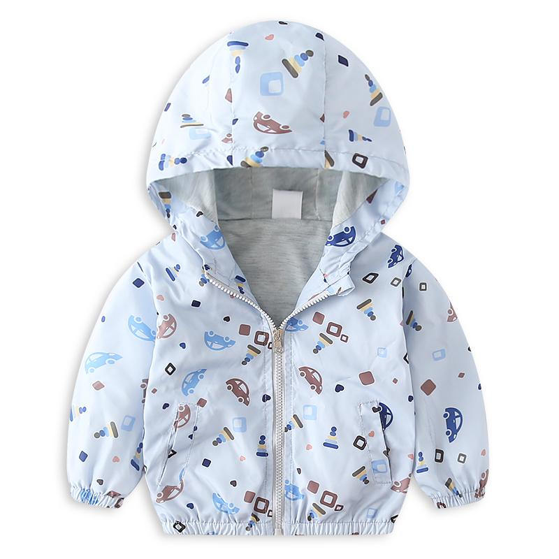 f7012893f Coats For Boys Boy Kids Coat Children Autumn Outwear Print Cars ...