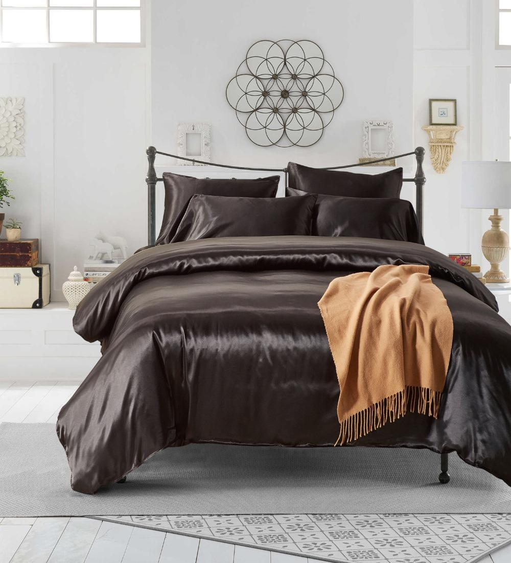 free shipping gift elegant solid black color home dorm bedding duvet cover set with pillow case sham uk us russia size rh dhgate com