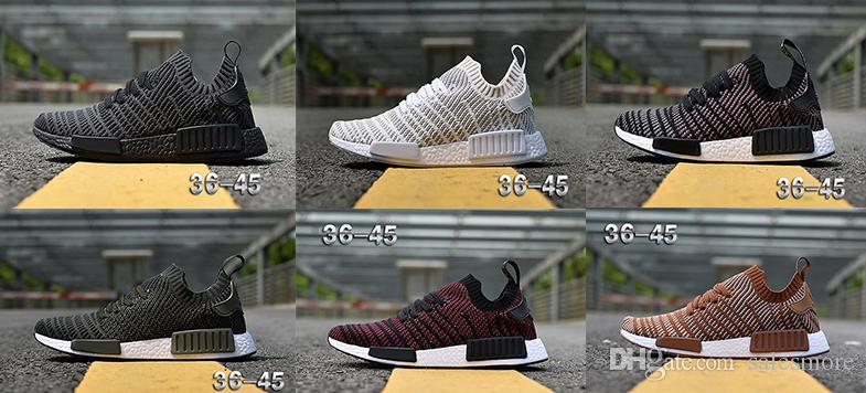 New Cheap R1 Stlt Spring Summer 2018 Line Up Mens Womens Running Shoes Runner Primeknit Sports Sneakers discount explore MQc6hRb