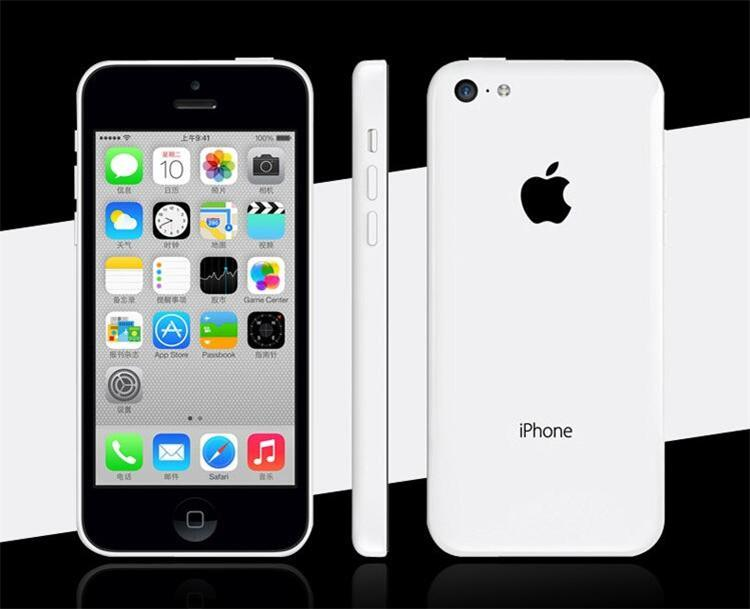Original Refurbished Unlocked Apple iPhone 5C Cell phones 8GB 16GB 32GB dual core WCDMA+WiFi+GPS 8MP Camera Smartphone US Version