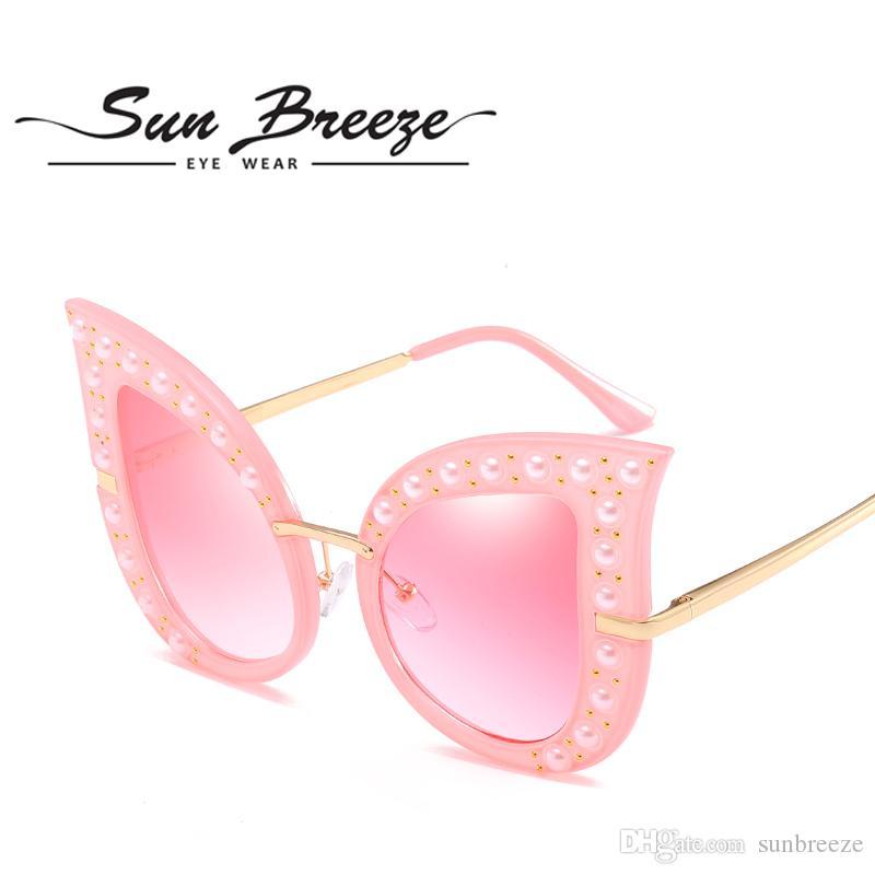 62edafd47a7 2018 Polarized Cat Eye Sunglasses High Quality Polarized Lenses Fashion  Brand Designer Sport UV400 Cool Style With Original Cases And Box John  Lennon ...