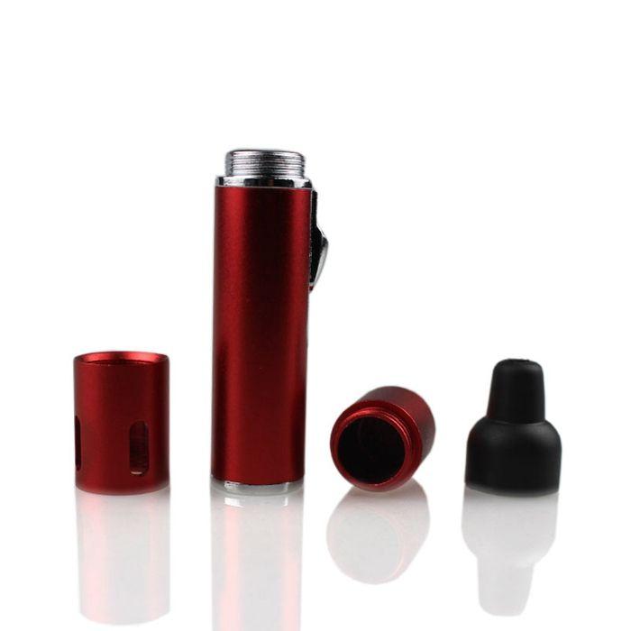 2018 clique quente N Vape sneak um toke vaporizador caneta Fumar cachimbos de metal para fumar erva seca vaporizador tabaco maçarico butano