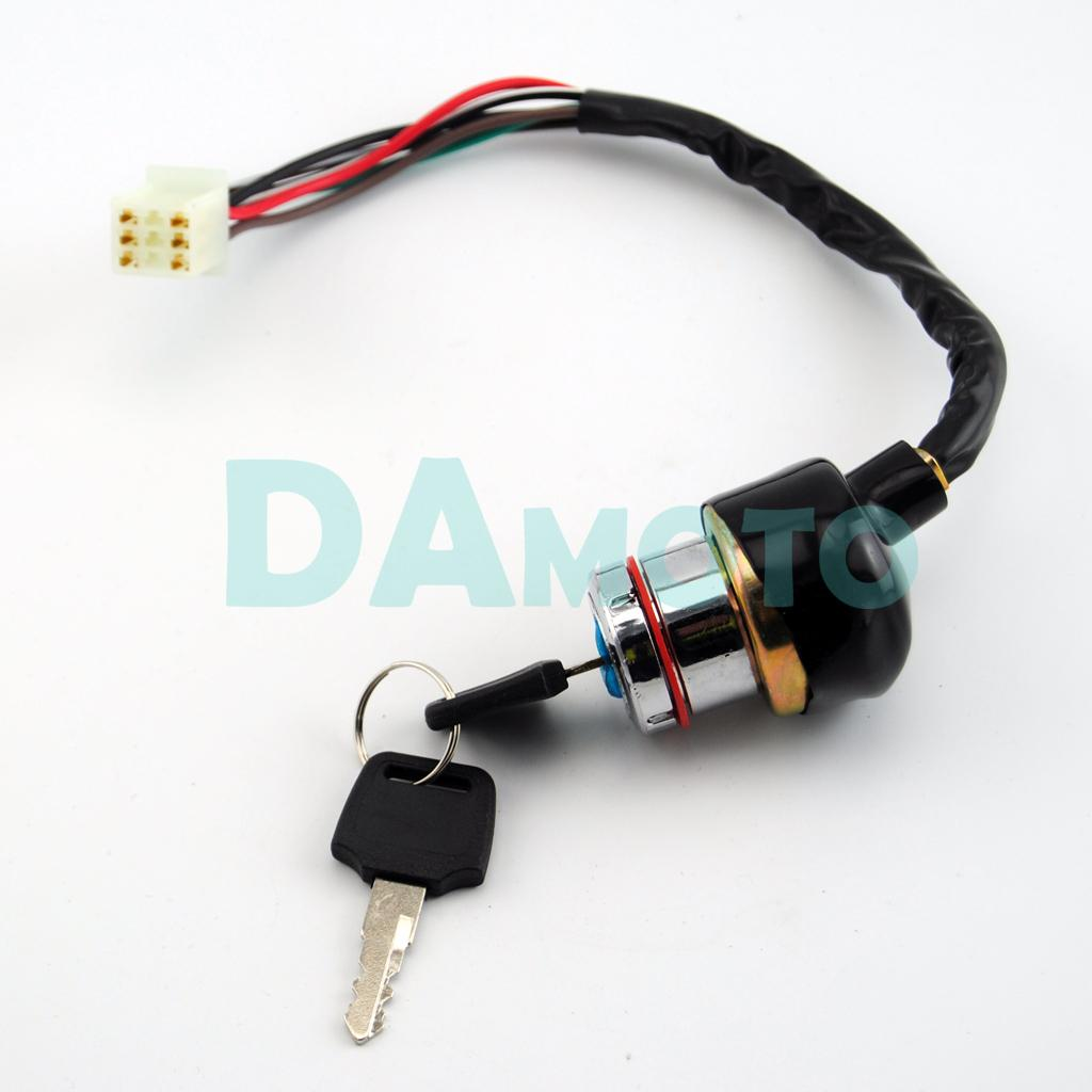 6 wire ignition key barrel switch 150cc 200cc 250cc pit quad dirt rh dhgate  com chinese