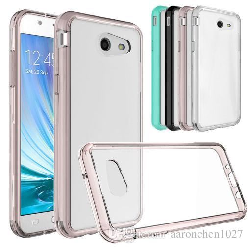 sports shoes ef894 a61d8 Soft TPU Hard Back Armor Clear Case Cover For Samsung Galaxy Luna Pro For  LG Tribute Dynasty Stylo 3 ZTE Blade Force N9517 Alcatel A30 Fierc