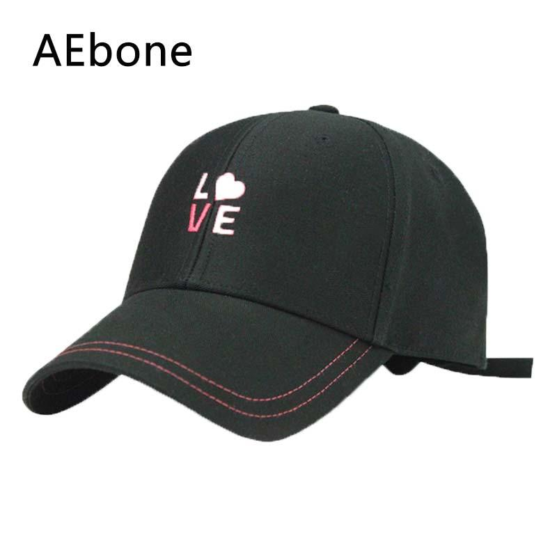 8fcad780 AEbone Baseball Caps Print Heart Love Embroidered Low Profile Soft Cotton  Brushed Cap Gift For Girlfriend Women AE8017 Men Hats Zephyr Hats From  Poety, ...