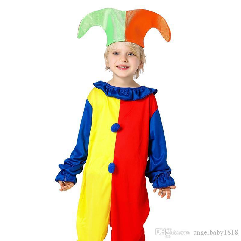 d11f570e7d8bd Acquista Abbigliamento Bambini Abbigliamento Neonati Abbigliamento Neonato  Vestiti Ragazzi Nuovo Costume Harlequin Costume Halloween Halloween A  5.13  Dal ...