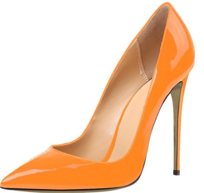 2018 Весна Женская обувь на высоком каблуке женщины насосы платье женская партия танцевальная обувь женщина Zapatos Mujer 12 см пятки