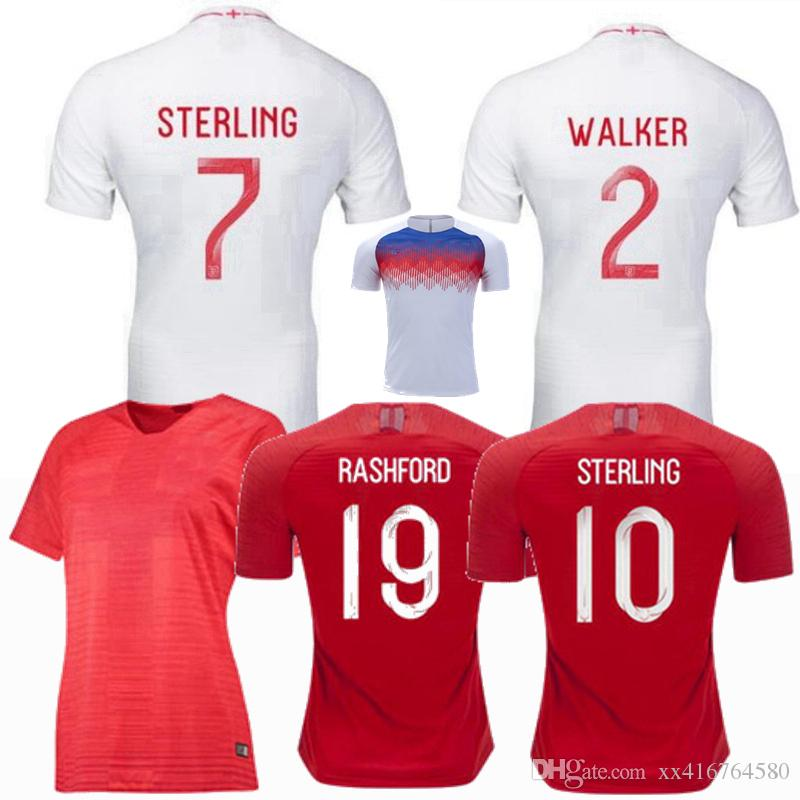 0b59b18be 2019 2018 2019 DELE ALLI World Cup Soccer Jerseys National Team KANE  RASHFORD VARDY LINGARD STERLING HENDERSON Men Women Training Football Shirt  From ...