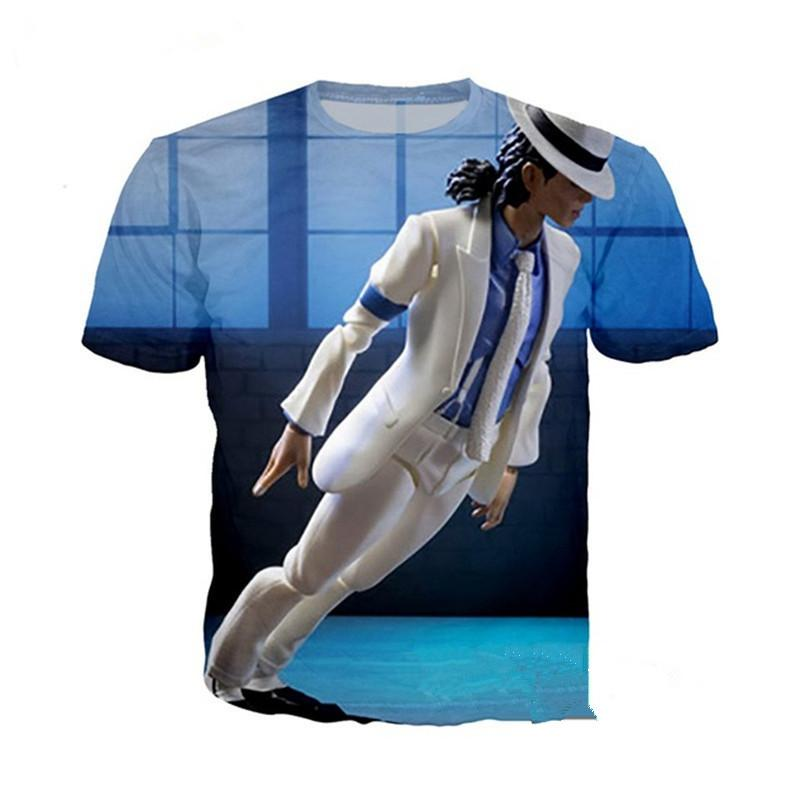 91d93e8f1aa Singer Michael Jackson Newest Fashion Men Women Tops 3d Printing T Shirt  Unisxe Funny Short Sleeved Tees 3D T Shirt N183 Shop For T Shirts Shop For T  Shirts ...