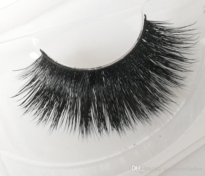 PRIVATE LABEL thick Mink hair eyelashes sexy mink lashes Cross medium False eyelash Daily makeup true mink lashes custom eyelash package box