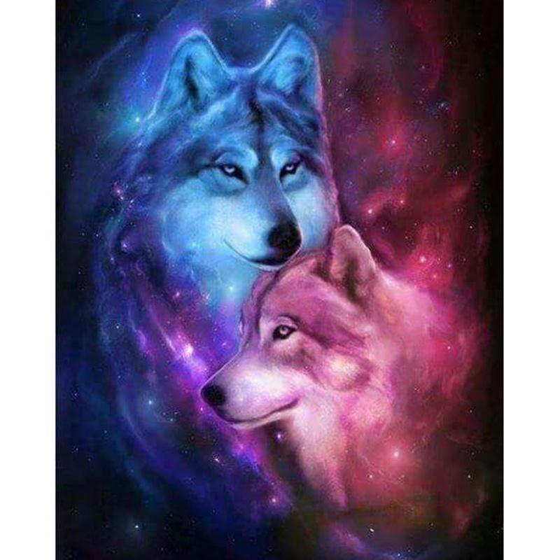 2019 5d Diamond Painting Wolf Diy Diamond Embroidery Cross Stitch