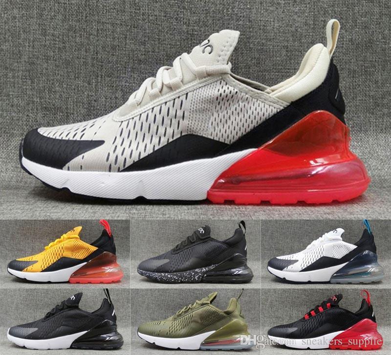 new style e8d35 0ab80 Compre Nike Air Max 270 Zapatillas De Running Para Hombre Air Max 270 Mujer  Diseñador Calzado Deportivo Zapatillas De Deporte Triples Blancas Airmax  270s A ...
