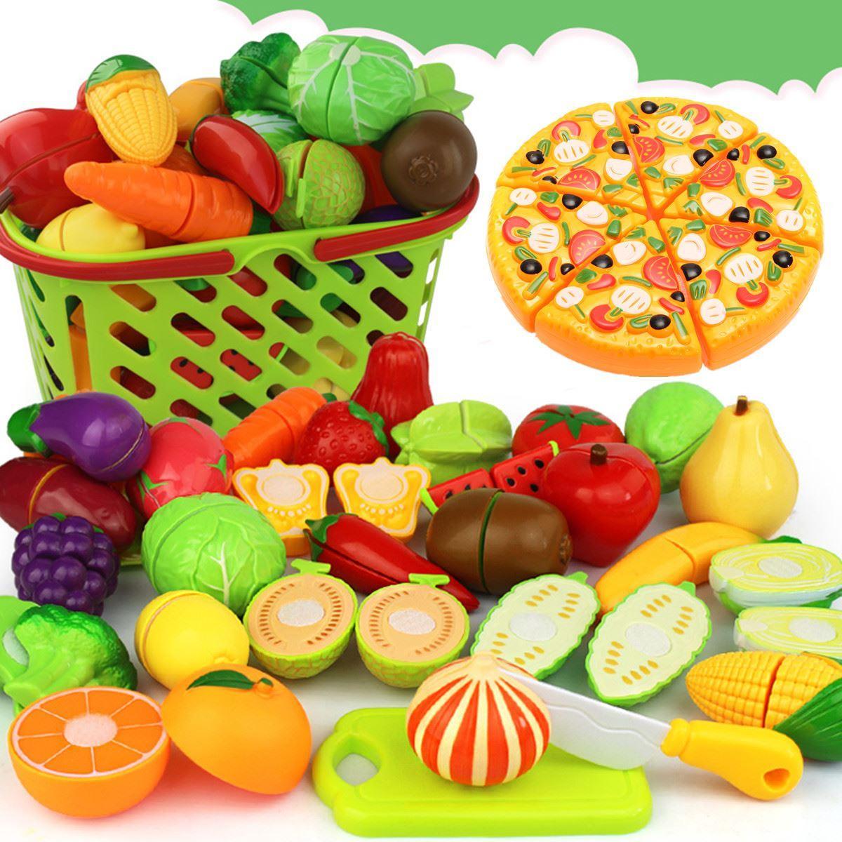 Großhandel 24 Teile / Satz Miniaturen Gemüse Obst Küche Spielzeug ...