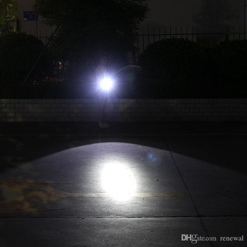 Torcia Zoomable DHL CREE XML-T6 della torcia 5000 lumen della luce della bici 5modes LED Torcia 18.650 Batteria + Caricabatterie