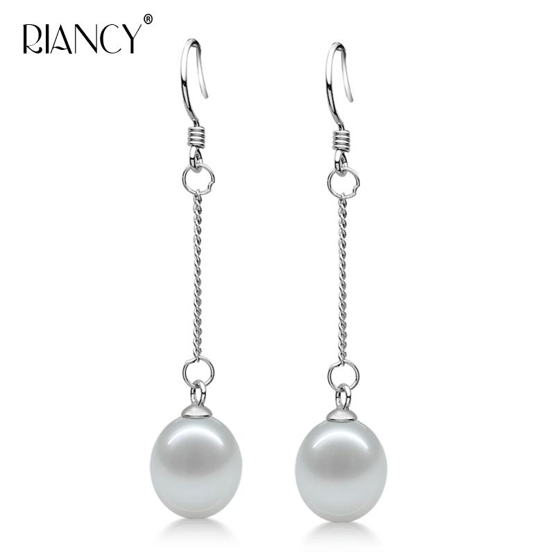 ce6fae650 Fashion Simple Natural Freshwater Pearl Earrings Jewelry for Women ...