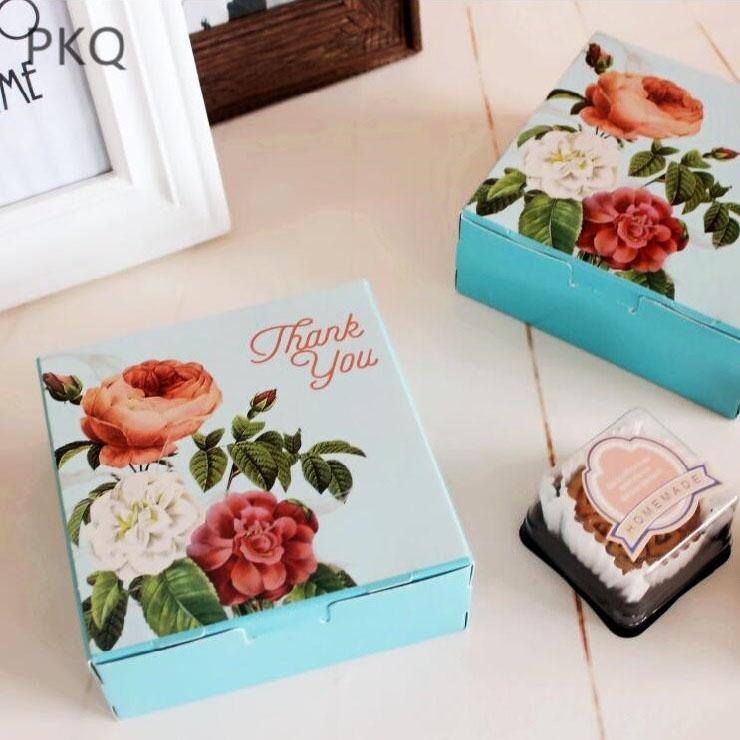 Thank You Gift Box Favors And Gifts Wedding Decor Flower Paper Cake