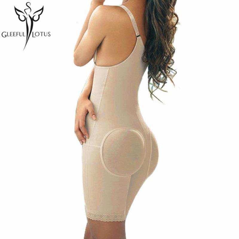 2602010971bfd 2019 Modeling Strap Butt Lifter And Body Shaper Enhancer Slimming Sheath Shapewear  Waist Trainer Fitness Corset Binder Reduce Belts From Saltblue