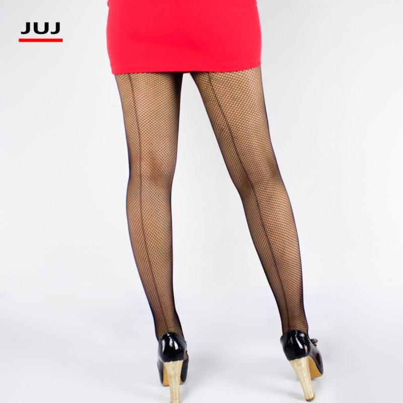 7ba0731ca6b 2017 Women s fishnet stocking Vintage Cuban Design tights sexy lingerie Back  Line Seam club party hosiery slim pantyhose female
