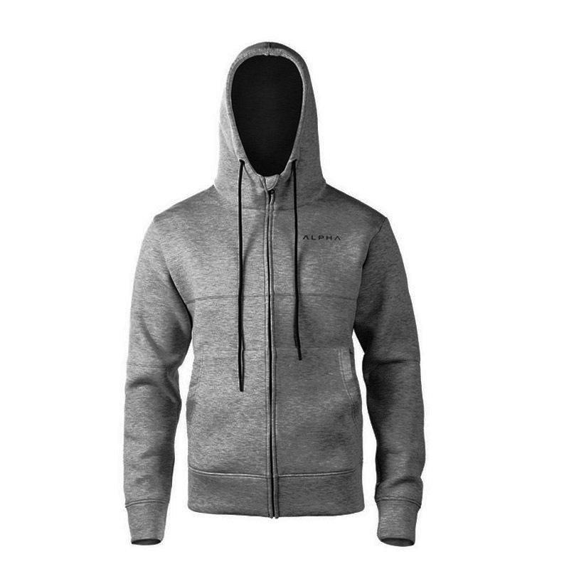 d3b960a27263 2019 Running Jacket Men Breathable Quick Drying Jersey Coat Zipper  Reflective At Night Outdoor Sport Hooded From Newhappyness