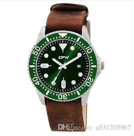 42d5b2bbc25e Compre Negocio Militar Relojes Hombres Marca De Lujo Deporte Relogio  Masculino Diseño Retro Banda De Cuero De Aleación De Cuarzo Reloj De Pulsera  De Grano ...