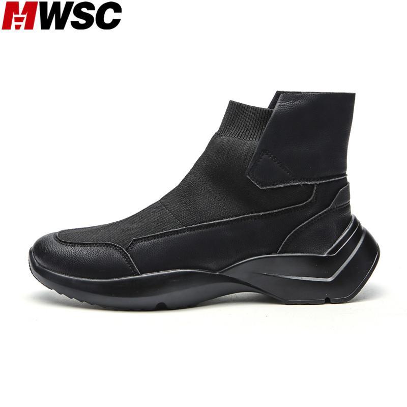 Uomo Acquista Da High Rialzo Uomo Alte Scarpe Con Sneakers Top Mwsc PPnzT6Z