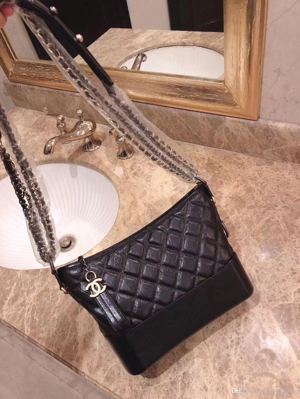 7c17bd2581e9 Hot Sale C C Designer Handbags Leather Gold Zipper Luxury Shoulder Bags  Sacs À Casual Storage Cross Body Bag Bolso Real Pic Bags For Sale Discount  Handbags ...